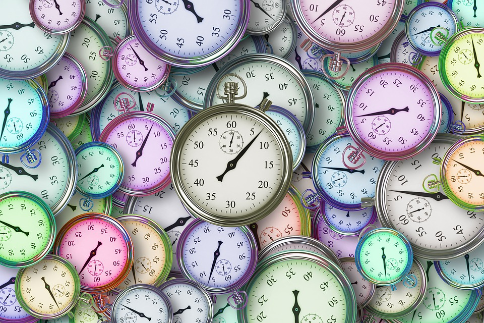 clock times for financial planning
